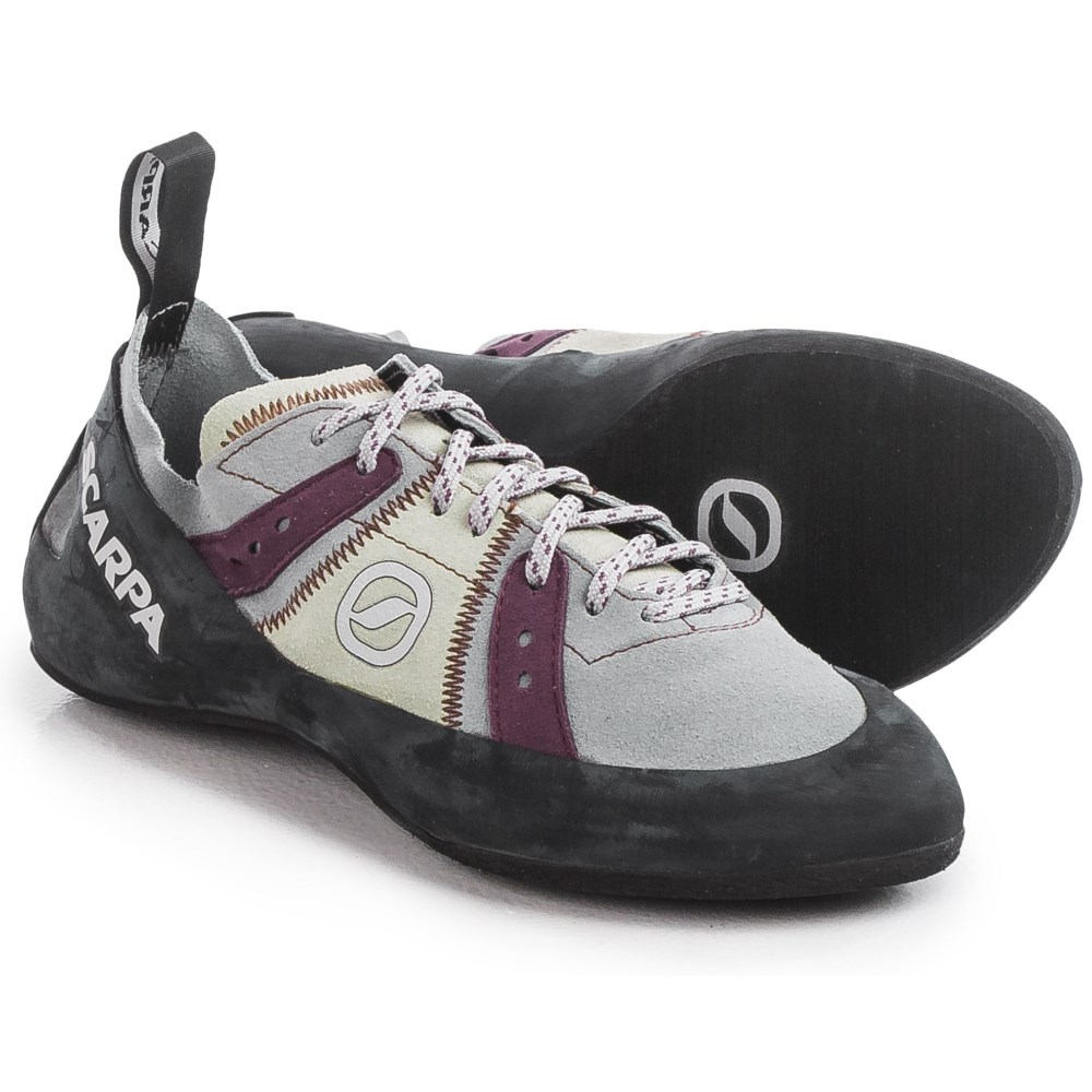 【ラッピング無料】 スカルパ メンズ スカルパ クライミング シューズ・靴【Helix Climbing Climbing Shoes】Pewter/Plum, ユキコオオクラ アウトレット:88c2ece6 --- supercanaltv.zonalivresh.dominiotemporario.com