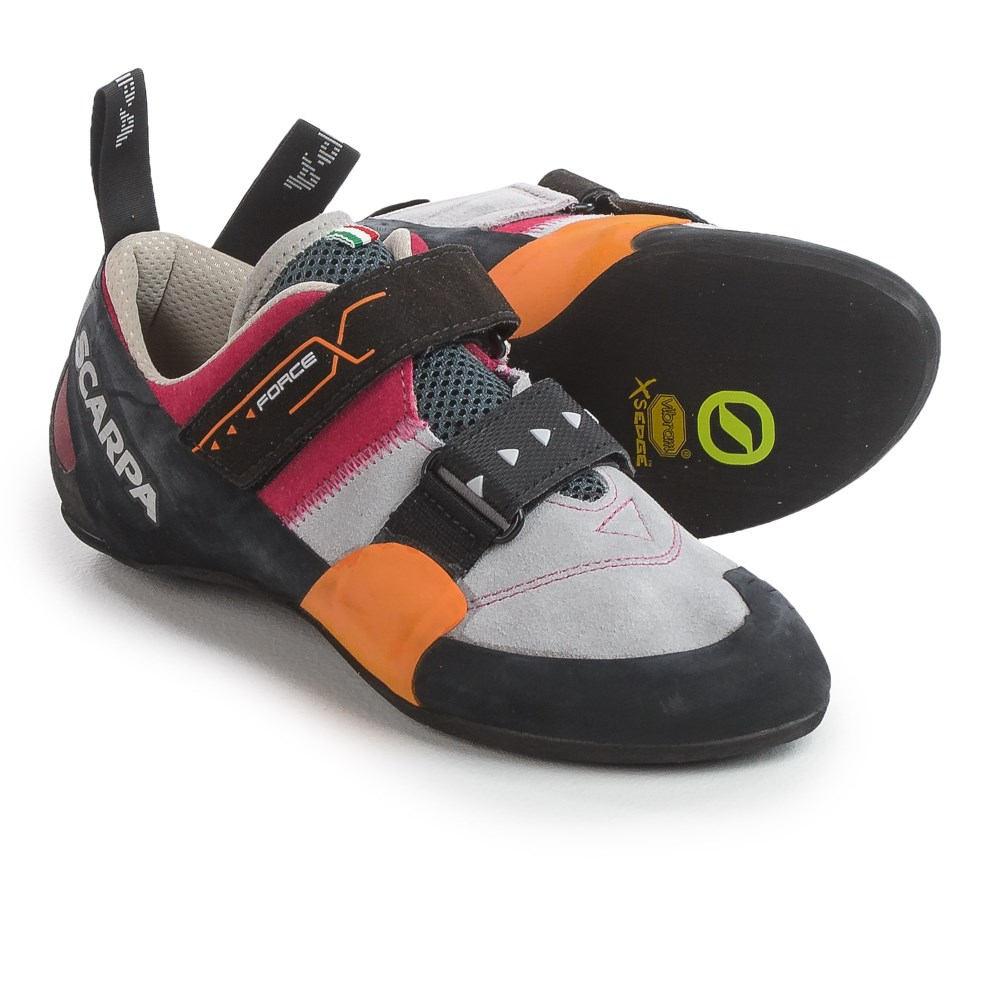 スカルパ メンズ クライミング シューズ・靴【Force X Climbing Shoes - Suede】Lip Gloss