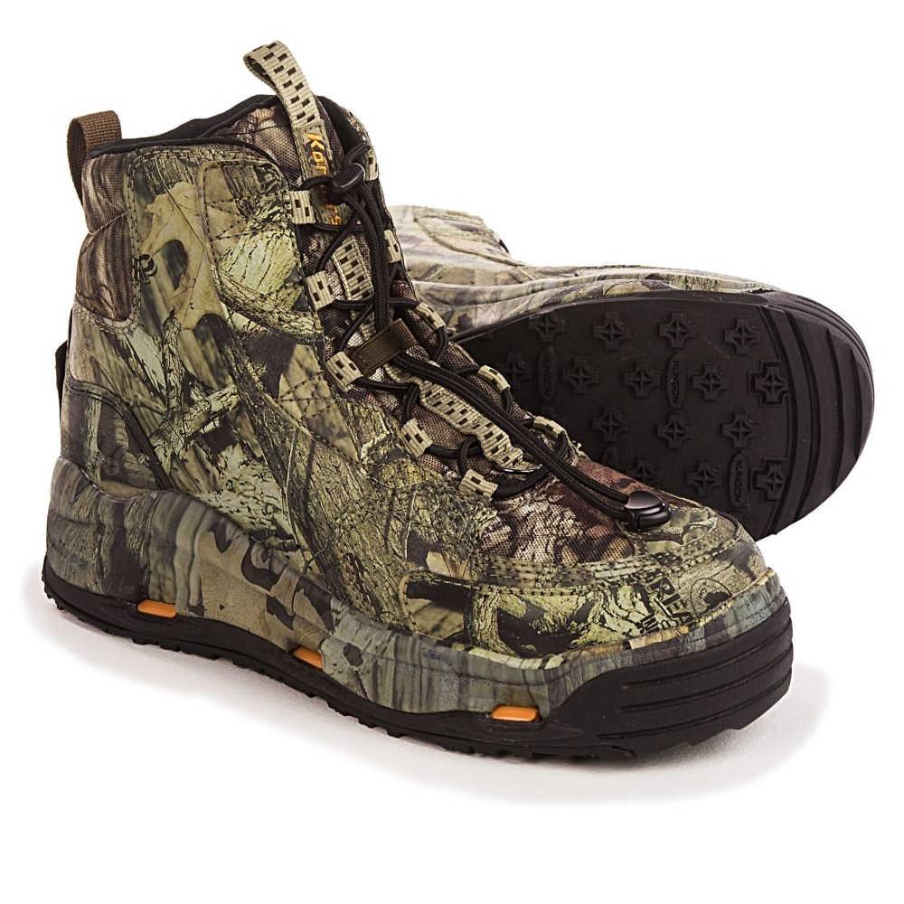 コーカーズ レディース 釣り・フィッシング シューズ・靴【Ambush Wading Boots - Interchangeable Outsoles】Mossy Oak Breakup Infinity