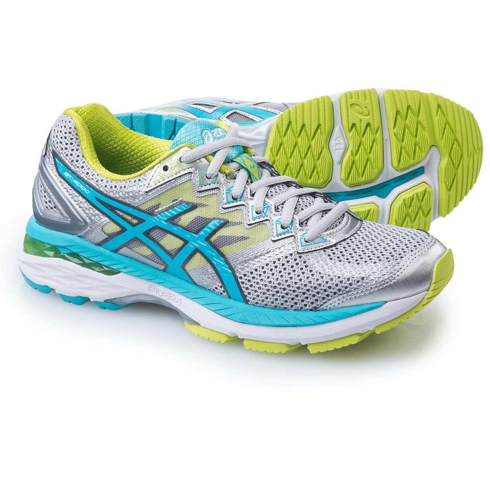 新作 アシックス レディース ランニング・ウォーキング 4 シューズ・靴【GT-2000 Running レディース 4 Running Shoes】Silver/Turquoise/Lime Punch, インク革命:135d4303 --- gipsari.com