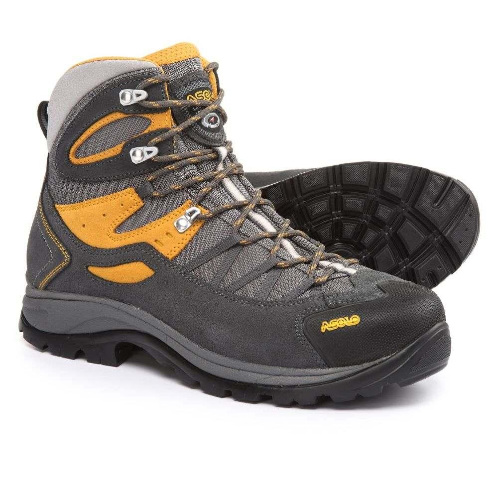 アゾロ メンズ ハイキング・登山 シューズ・靴【Swing Hiking Boots】Shark/Mineral Yellow