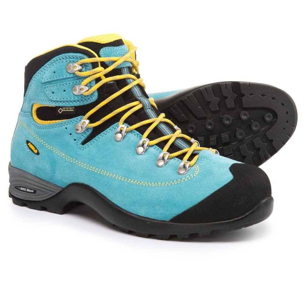 アゾロ レディース ハイキング・登山 シューズ・靴【Tacoma GV Gore-Tex Hiking Boots - Waterproof】Azure/Mimosa