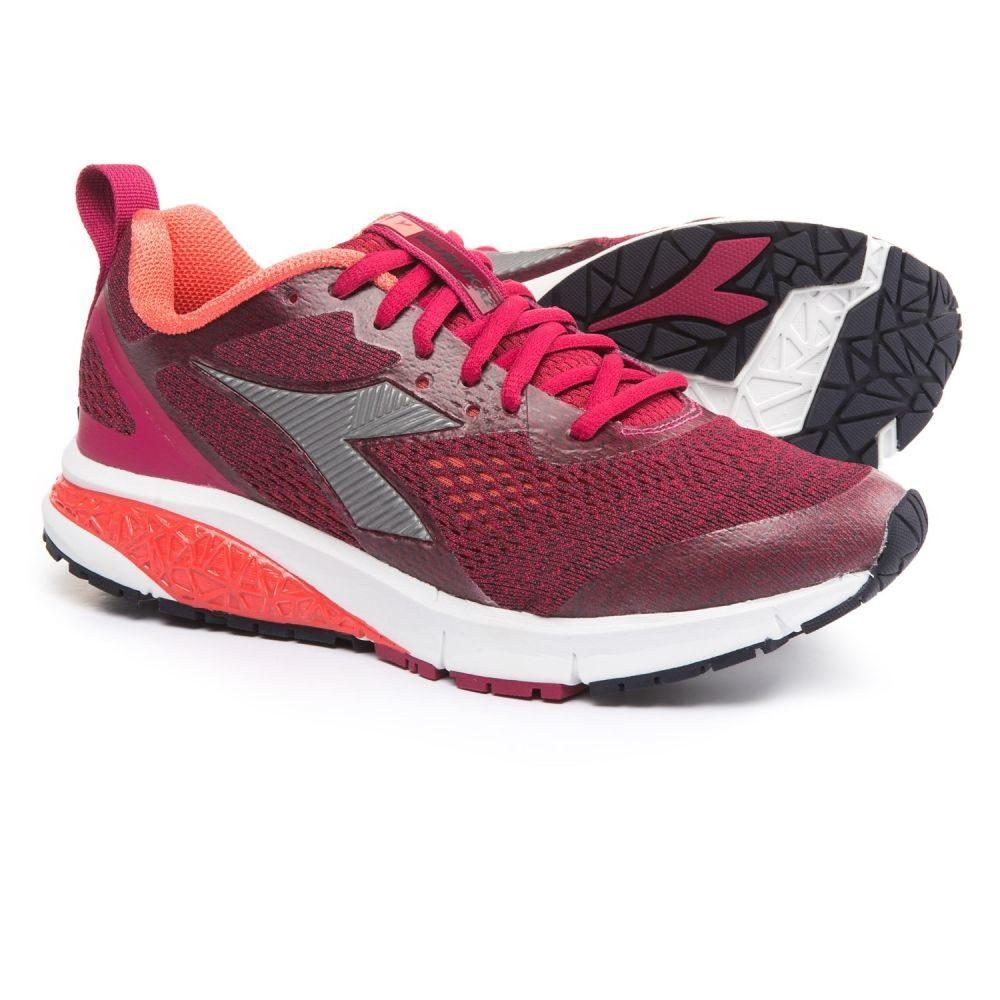 ディアドラ レディース ランニング・ウォーキング シューズ・靴【Kuruka 2 Running Shoes】Sangria/Silver