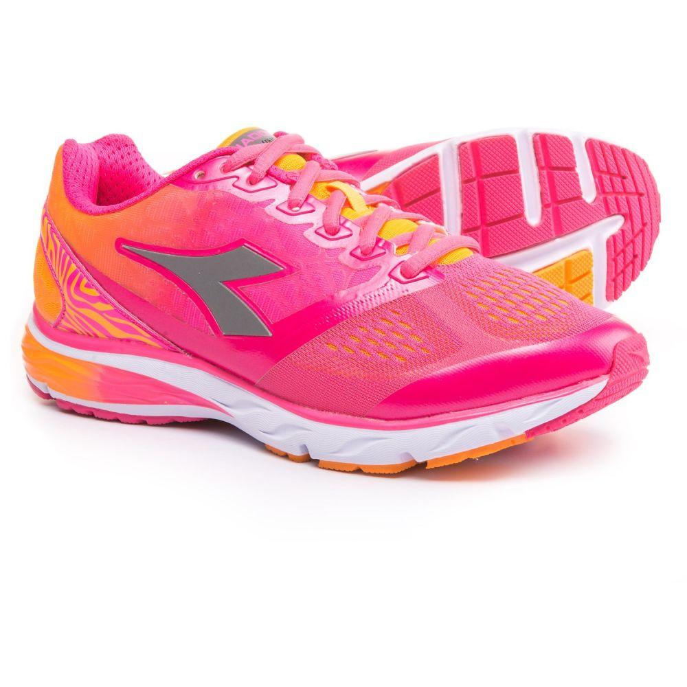ディアドラ レディース ランニング・ウォーキング シューズ・靴【Mythos Blushield Running Shoes】Fluo Pink/Fluo Orange