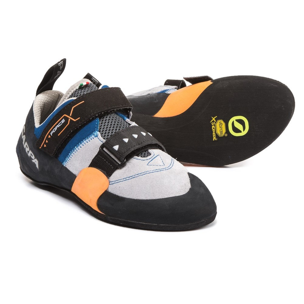 スカルパ メンズ クライミング シューズ・靴【Force X Climbing Shoes - Suede】Ink Blue