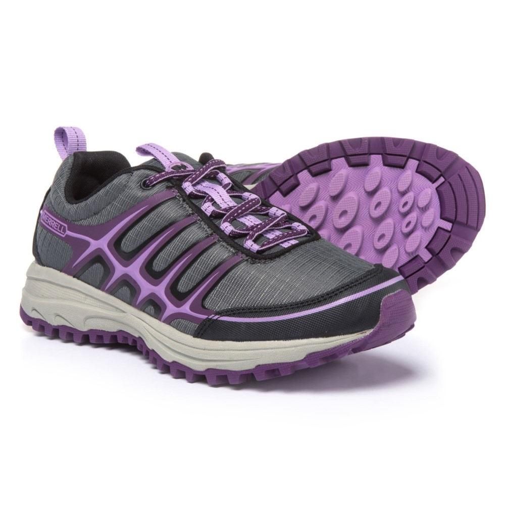 メレル レディース ランニング・ウォーキング シューズ・靴【Versatrail Trail Running Shoes】Black/Regal Orchid