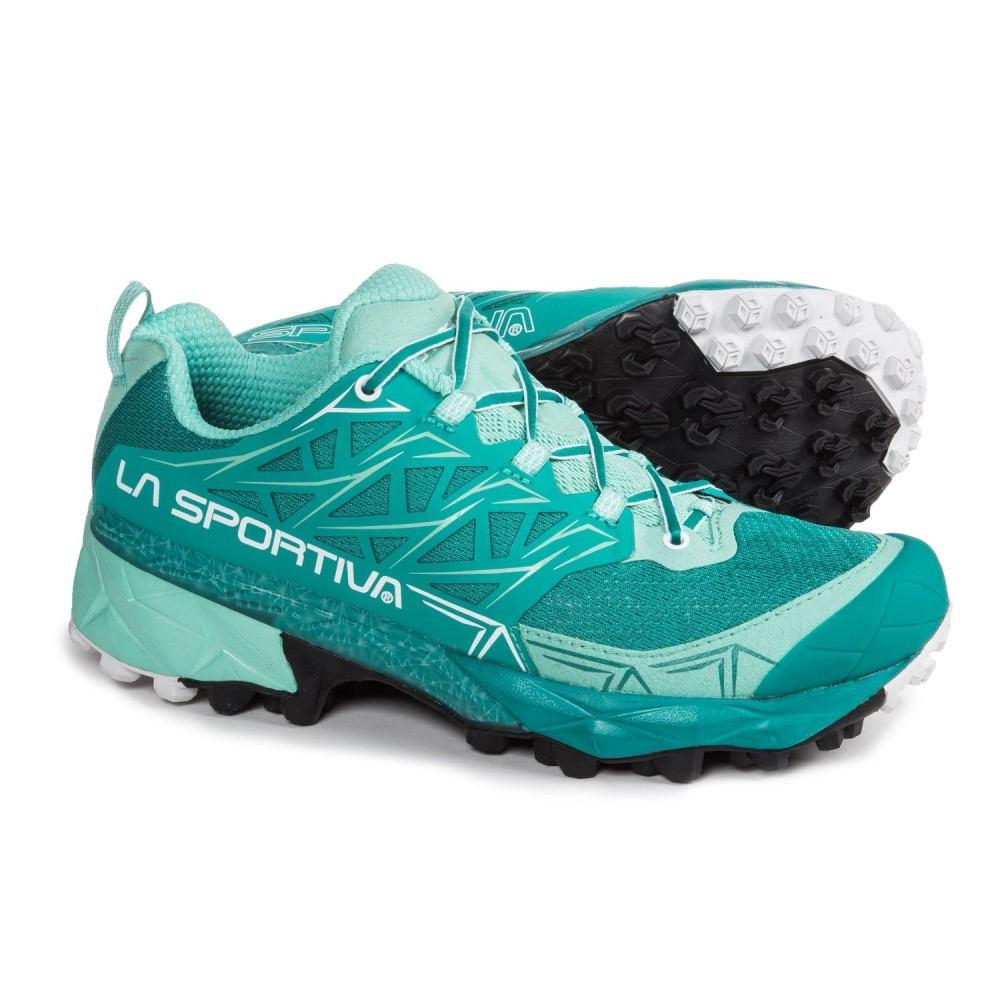 ラスポルティバ レディース ランニング・ウォーキング シューズ・靴【Akyra Trail Running Shoes】Emerald/Mint