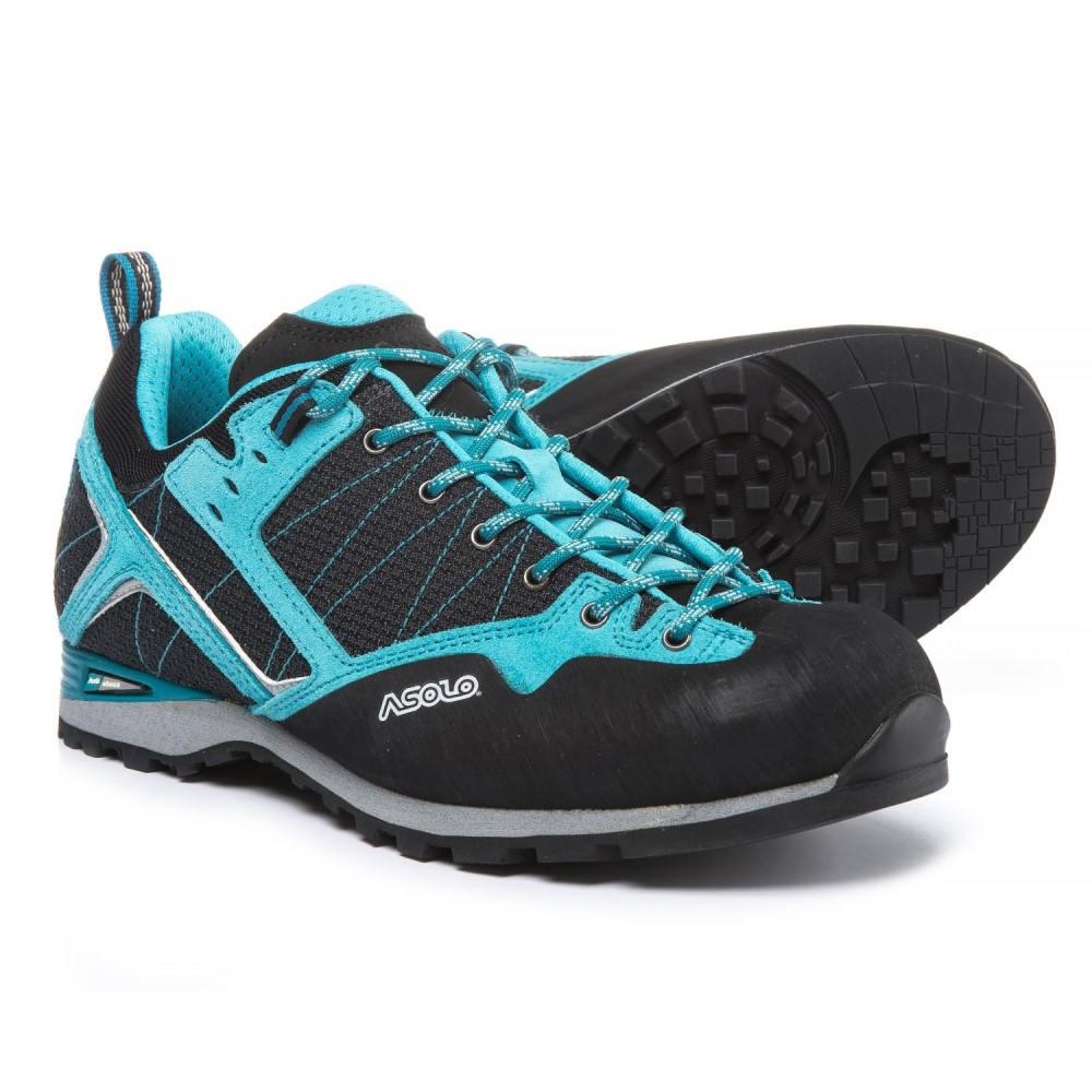 アゾロ レディース ハイキング・登山 シューズ・靴【Magix Approach Shoes】Black/Atoll Blue
