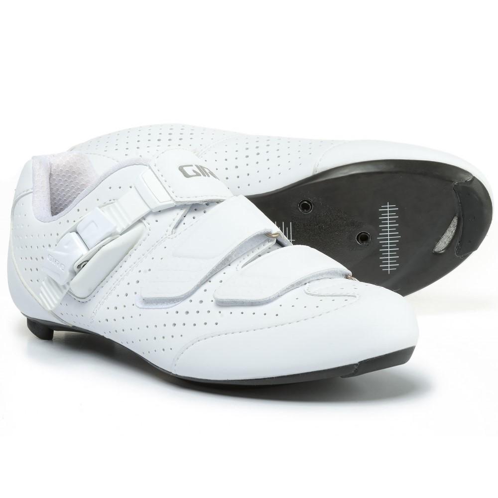 ジロ レディース 自転車 シューズ・靴【Espada E70 Road Cycling Shoes - 3-Hole】Matte White