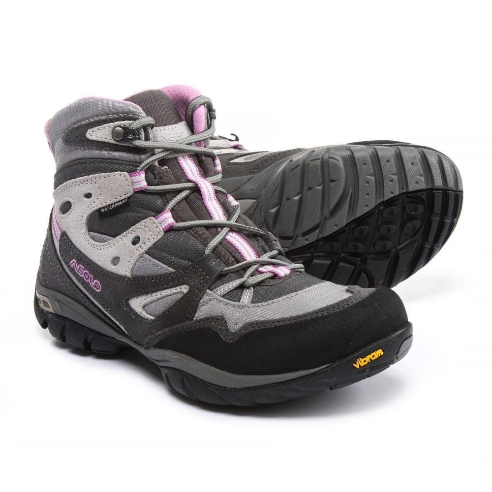 アゾロ レディース ハイキング・登山 シューズ・靴【Athena Hiking Boots - Waterproof】Graphite/Titanium