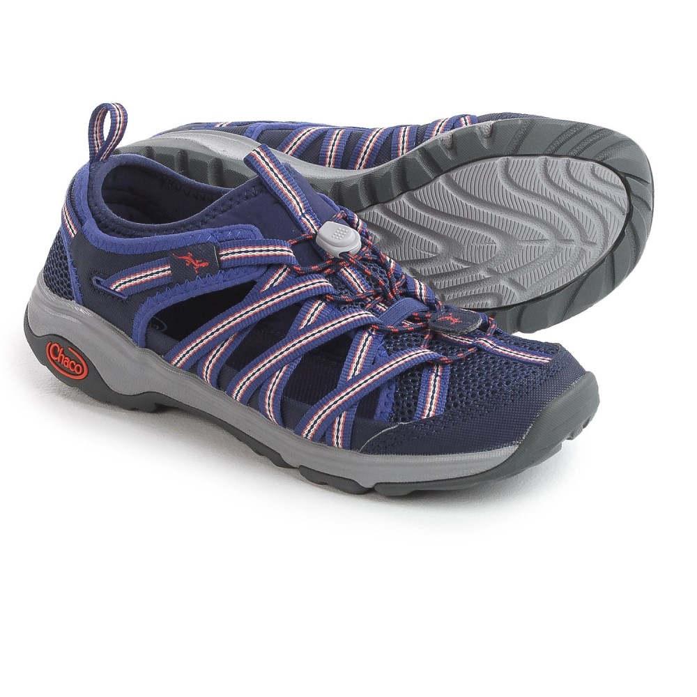 新着 チャコ レディース Water シューズ・靴 ウォーターシューズ【OutCross Shoes】Blue Evo 1 Water 1 Shoes】Blue, モノマニア(逸品通販):a450df6a --- clifden10k.com