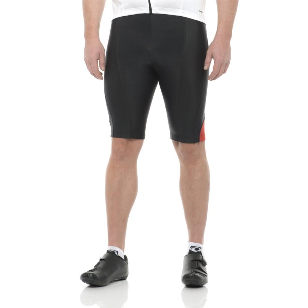 パールイズミ メンズ ランニング・ウォーキング ボトムス・パンツ【Podium Bike Shorts】Black/True Red