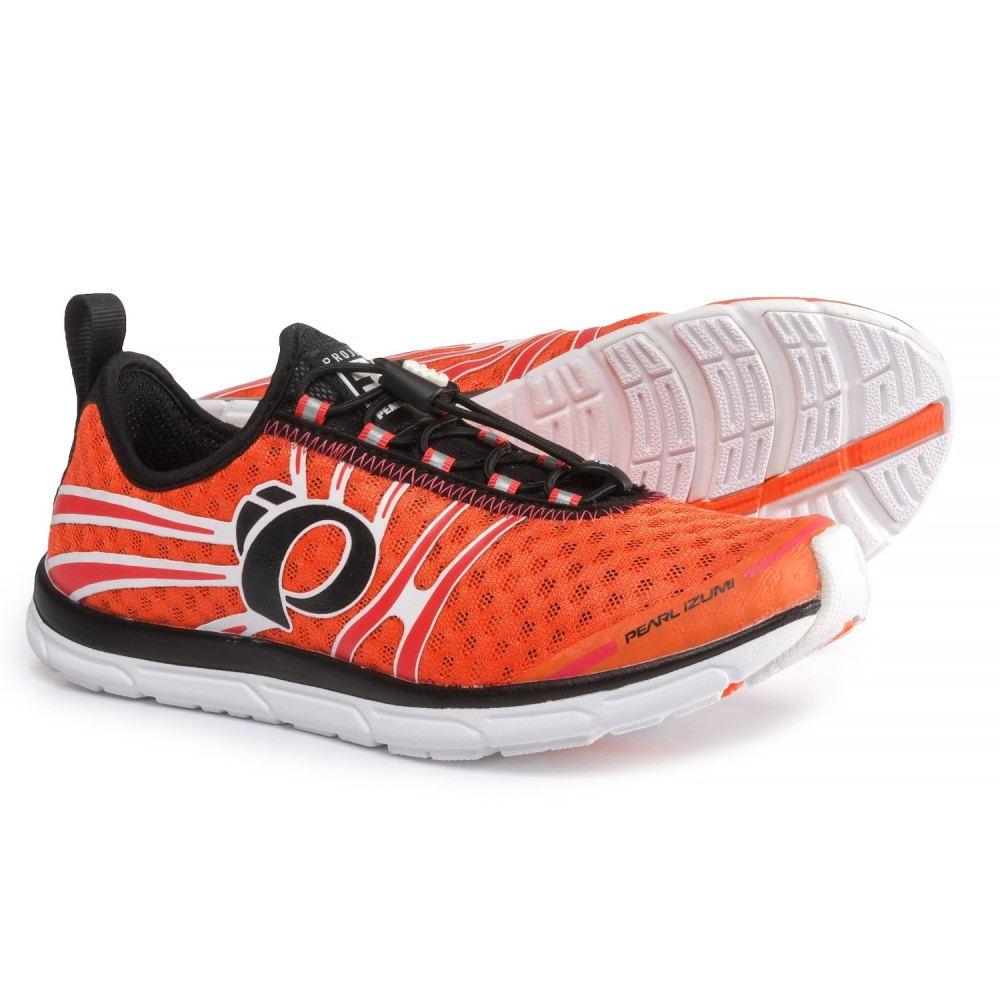 パールイズミ レディース ランニング・ウォーキング シューズ・靴【E:MOTION Tri N1 V2 Running Shoes】Clementine/Rouge Red