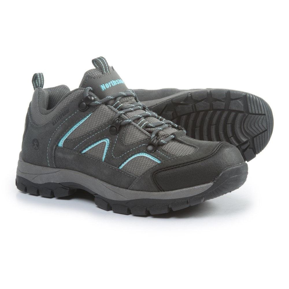 ノースサイド レディース ハイキング・登山 シューズ・靴【Snohomish Low Hiking Shoes - Waterproof】Gray/Aqua