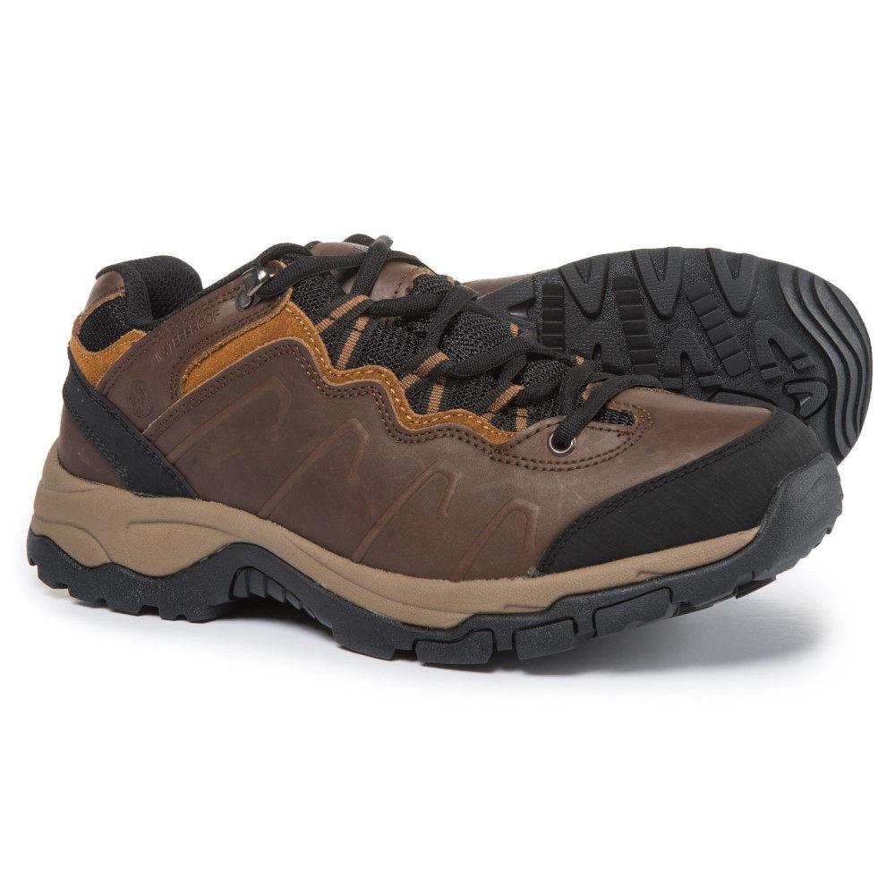 ノースサイド メンズ ハイキング・登山 シューズ・靴【Talus Leather Hiking Shoes - Waterproof】Dark Brown