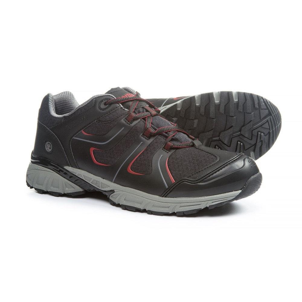 ノースサイド メンズ ハイキング・登山 シューズ・靴【Ascent Hiking Shoes - Waterproof】Black/Red