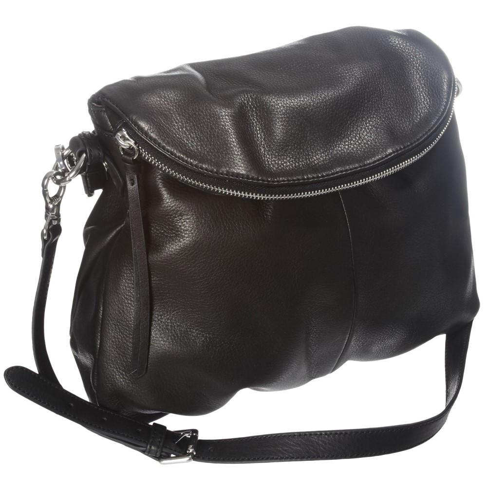 マーゴー レディース バッグ ハンドバッグ【Flap Zip Handbag - Leather】Black