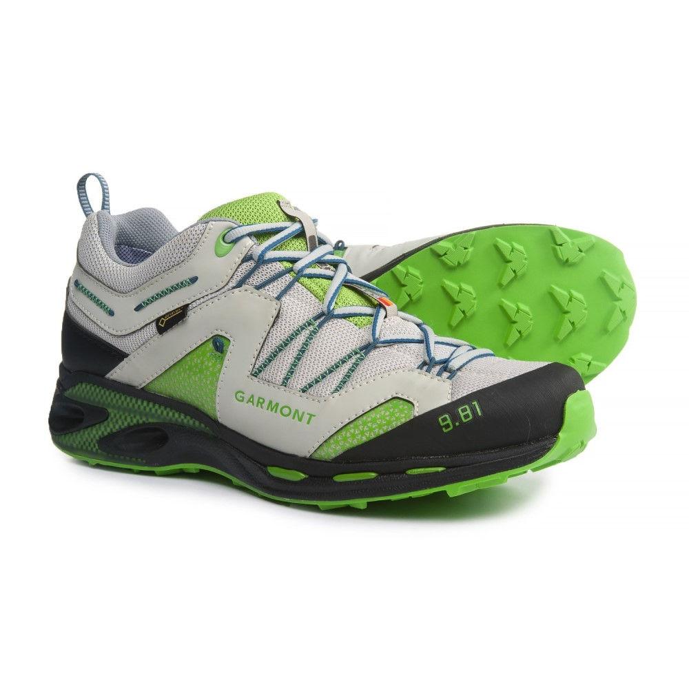 ガルモント メンズ ハイキング・登山 シューズ・靴【9.81 Trail Pro III Gore-Tex Trail Running Shoes - Waterproof】Light Grey/Green
