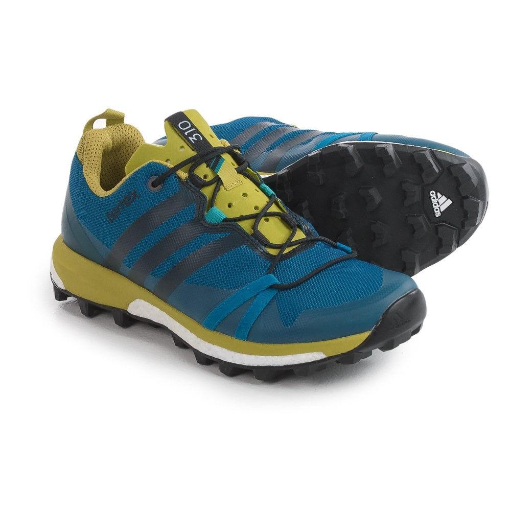 アディダス メンズ ハイキング・登山 シューズ・靴【Terrex Agravic アディダス Trail メンズ Agravic Running Shoes】Tech Steel/Black/Unity Blue:b4117661 --- hortafacil.dominiotemporario.com