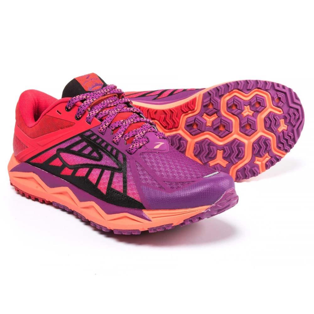 【再入荷!】 ブルックス レディース ハイキング レディース Trail・登山 シューズ・靴【Caldera Trail ブルックス Running Shoes】Hollyhock/Lollipop/Black, ぶんぶん文具屋さん:2d1af0a4 --- konecti.dominiotemporario.com