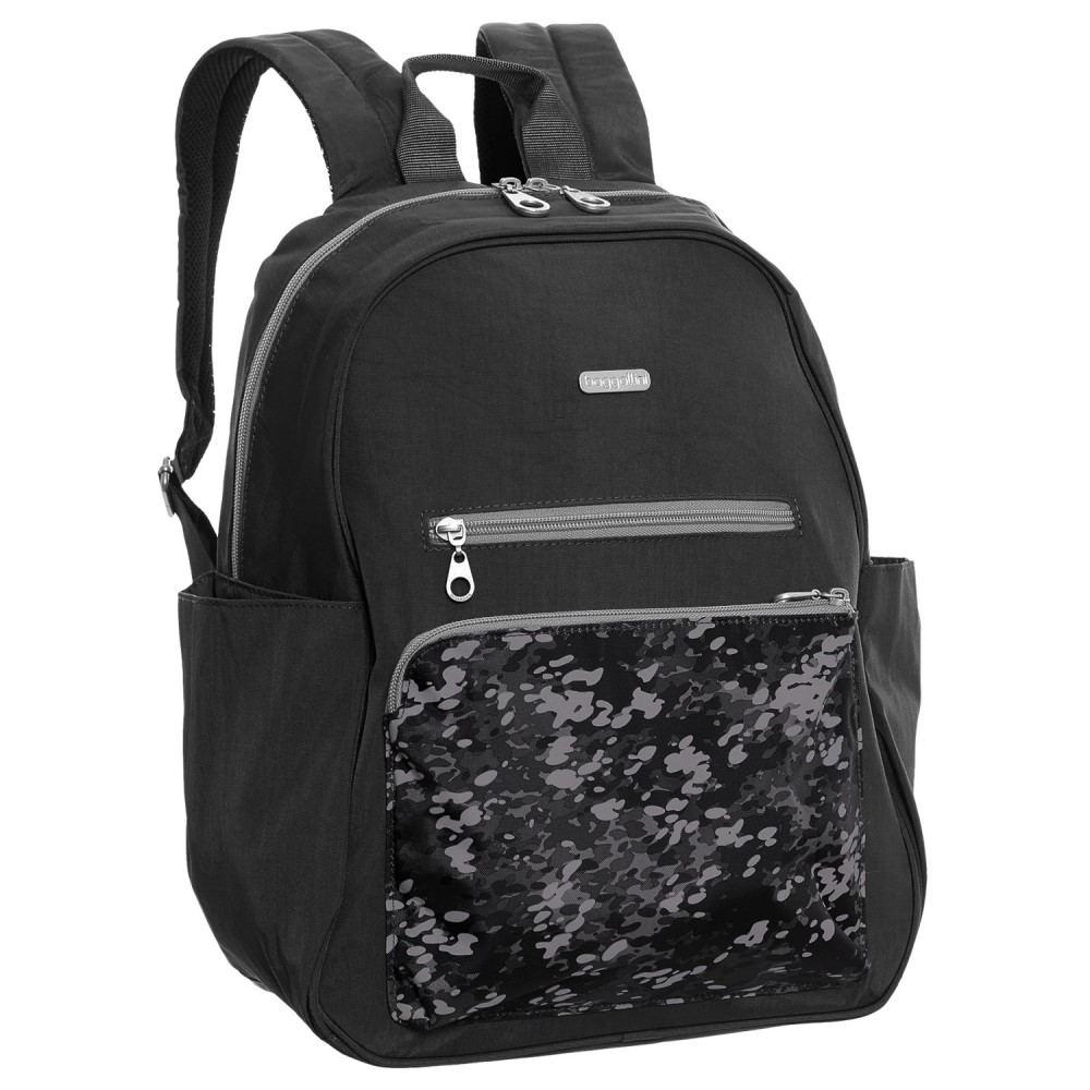 バッガリーニ レディース バッグ バックパック・リュック【Cargo Backpack】Black Scatter