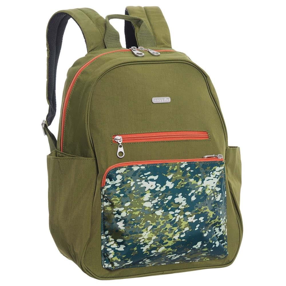 バッガリーニ レディース バッグ バックパック・リュック【Cargo Backpack】Green Scatter