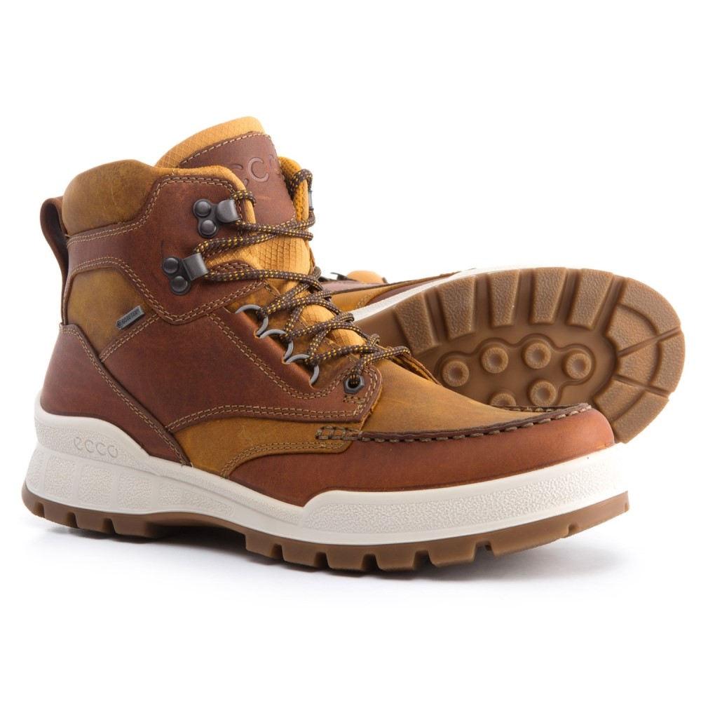 エコー メンズ ハイキング・登山 シューズ・靴【Track 25 Gore-Tex Moc-Toe Hiking Boots - Waterproof, Leather】Amber/Oak