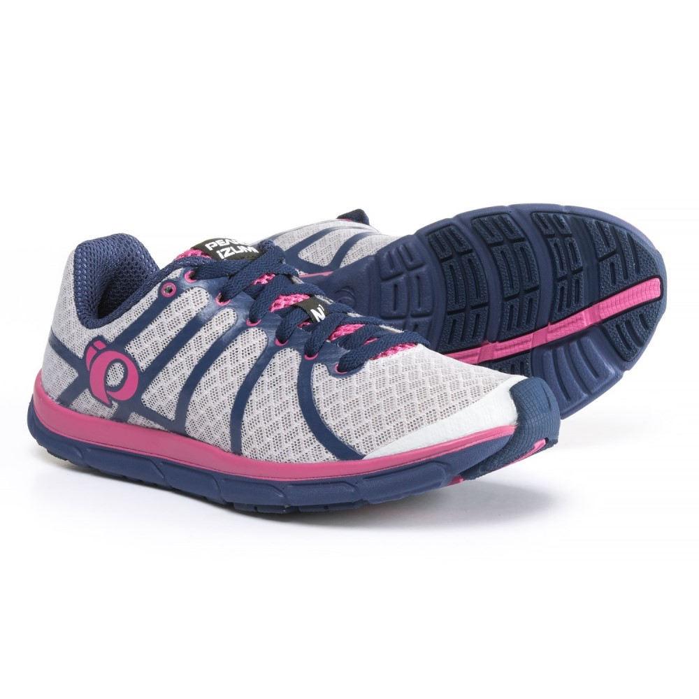 パールイズミ レディース ランニング・ウォーキング シューズ・靴【E:MOTION Road N1 v2 Running Shoes】Silver/Deep Indigo