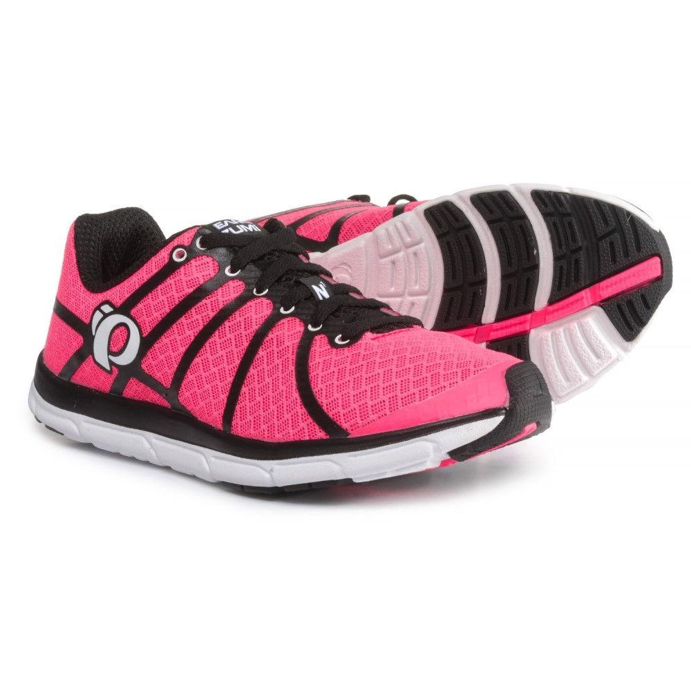 パールイズミ レディース ランニング・ウォーキング シューズ・靴【E:MOTION Road N1 v2 Running Shoes】Black/Screaming Pink