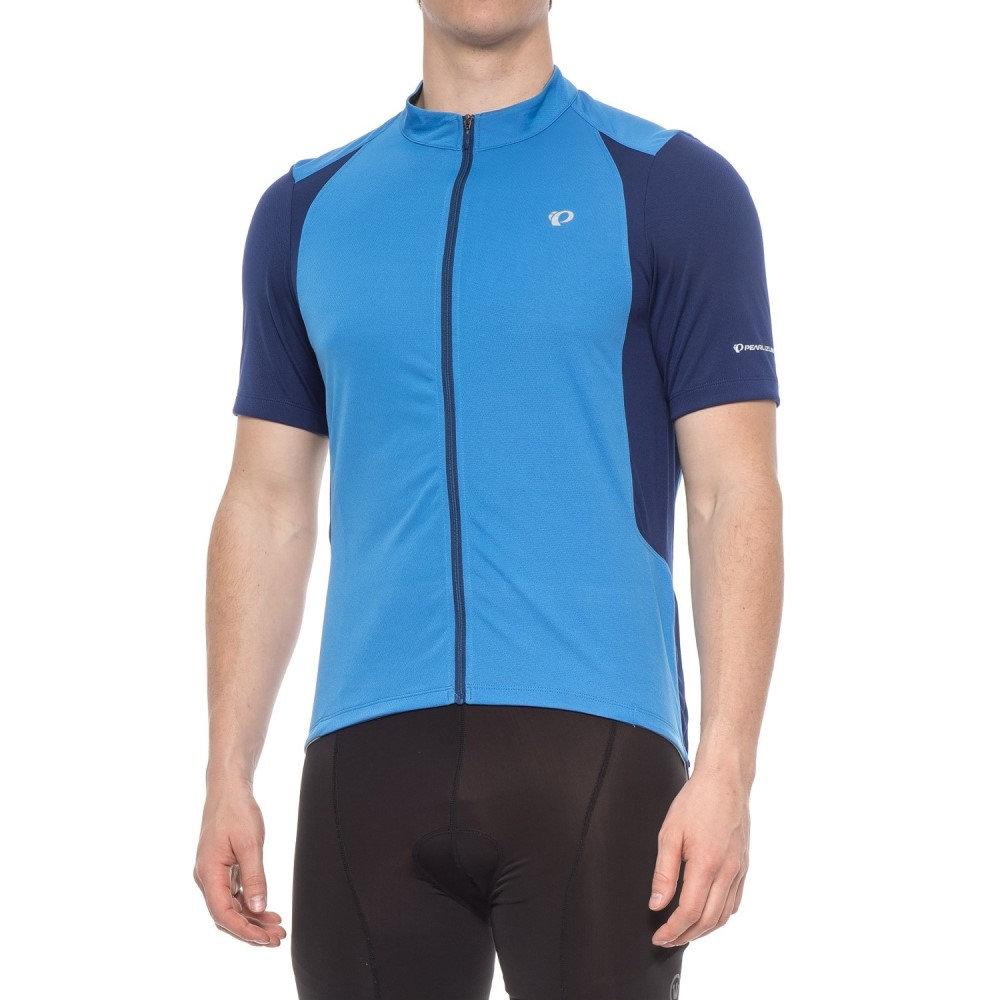 パールイズミ メンズ 自転車 トップス【SELECT Pursuit Cycling Jersey - UPF 50+, Full Zip, Short Sleeve】Blue X