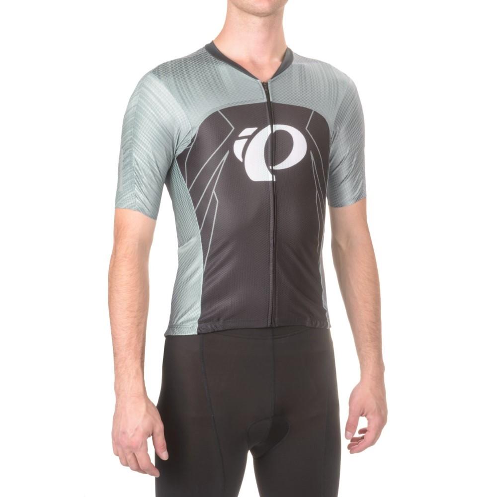 パールイズミ メンズ 自転車 トップス【P.R.O Pursuit Speed Cycling Jersey - UPF 40+, Short Sleeve】Pro Tm Smoked Pearl