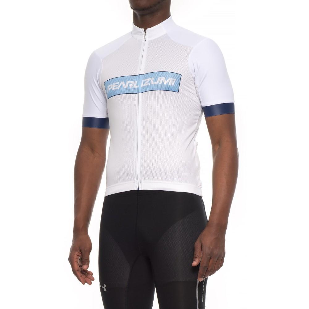 パールイズミ メンズ 自転車 トップス【ELITE Pursuit Summer Cycling Jersey - Short Sleeve】Blue X