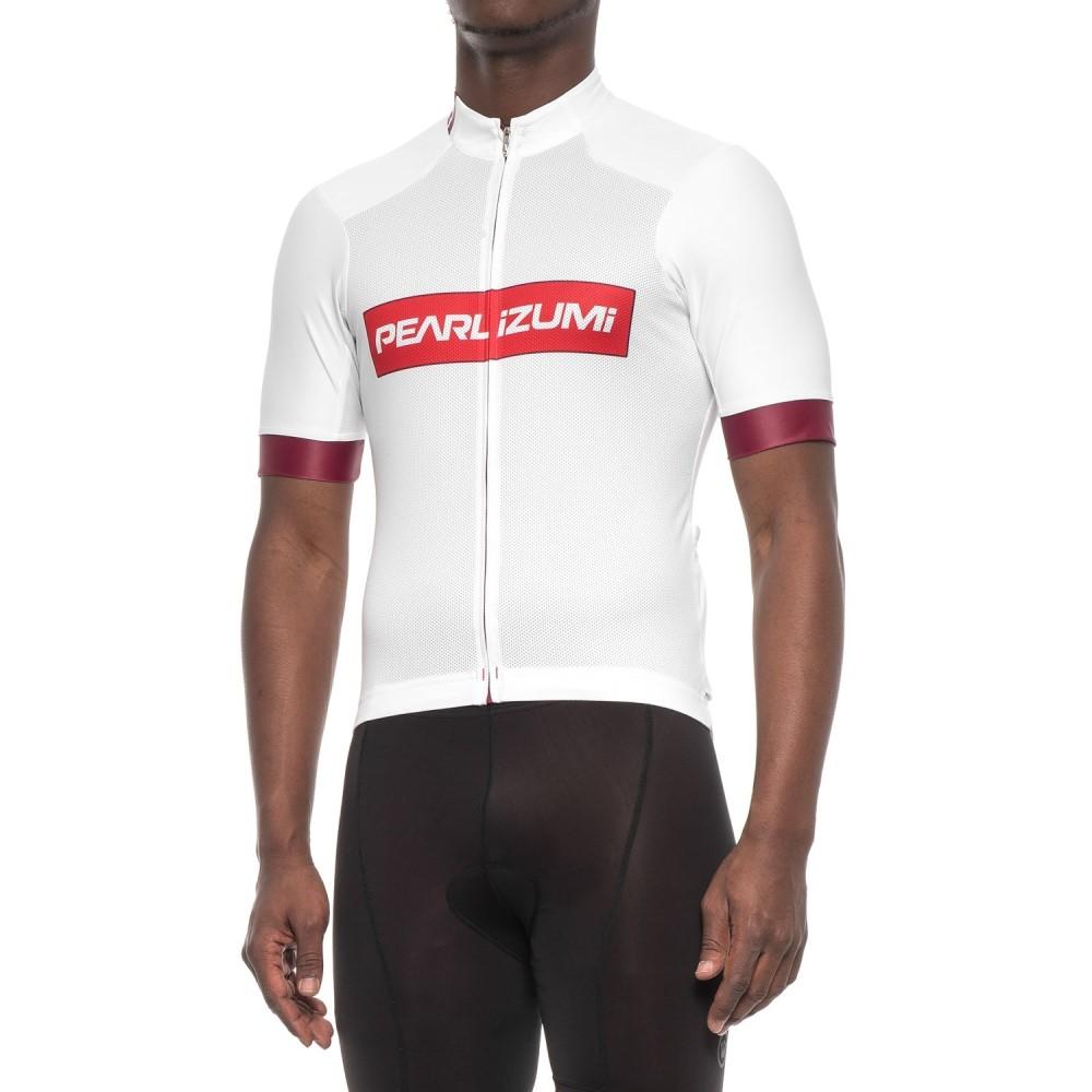 パールイズミ メンズ 自転車 トップス【ELITE Pursuit Summer Cycling Jersey - Short Sleeve】Red X