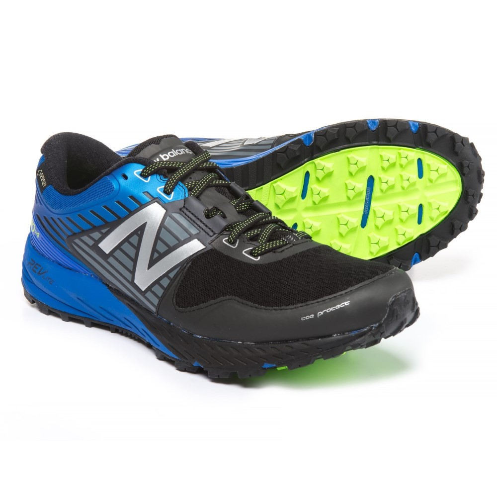 ニューバランス メンズ ハイキング・登山 シューズ・靴【910V4 Trail Running Shoes】Black/Vivid Cobalt Blue