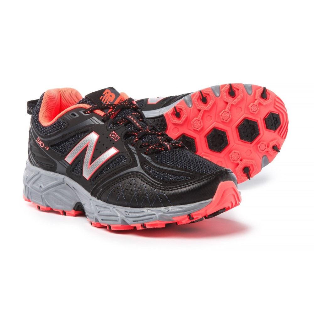 ニューバランス レディース ハイキング・登山 シューズ・靴【510V3 Trail Running Shoes】Black/Dragonfly/Silver