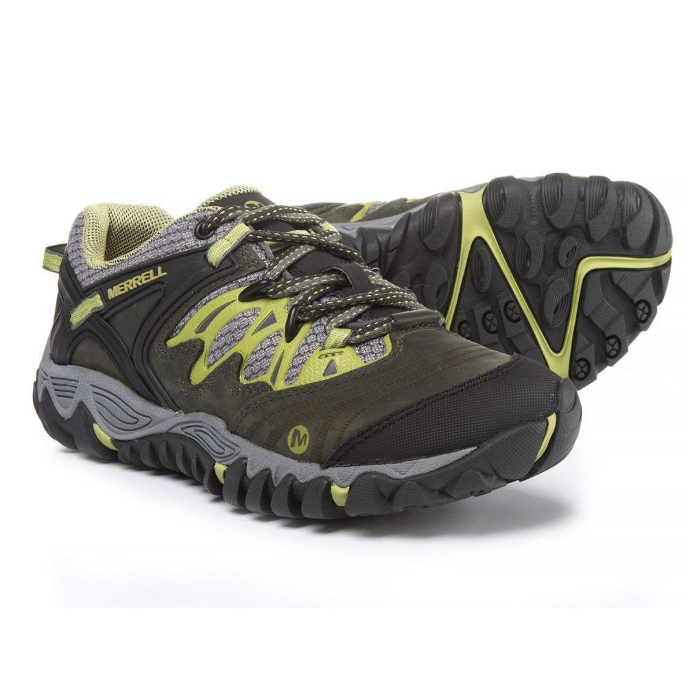 メレル レディース ハイキング・登山 シューズ・靴【All Out Blaze Hiking Shoes】Charcoal/Moss
