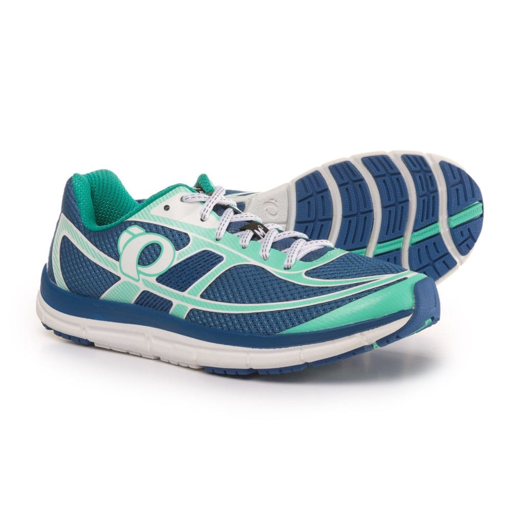 パールイズミ レディース ランニング・ウォーキング シューズ・靴【E:MOTION Road M2 V3 Running Shoes】Palace Blue/White