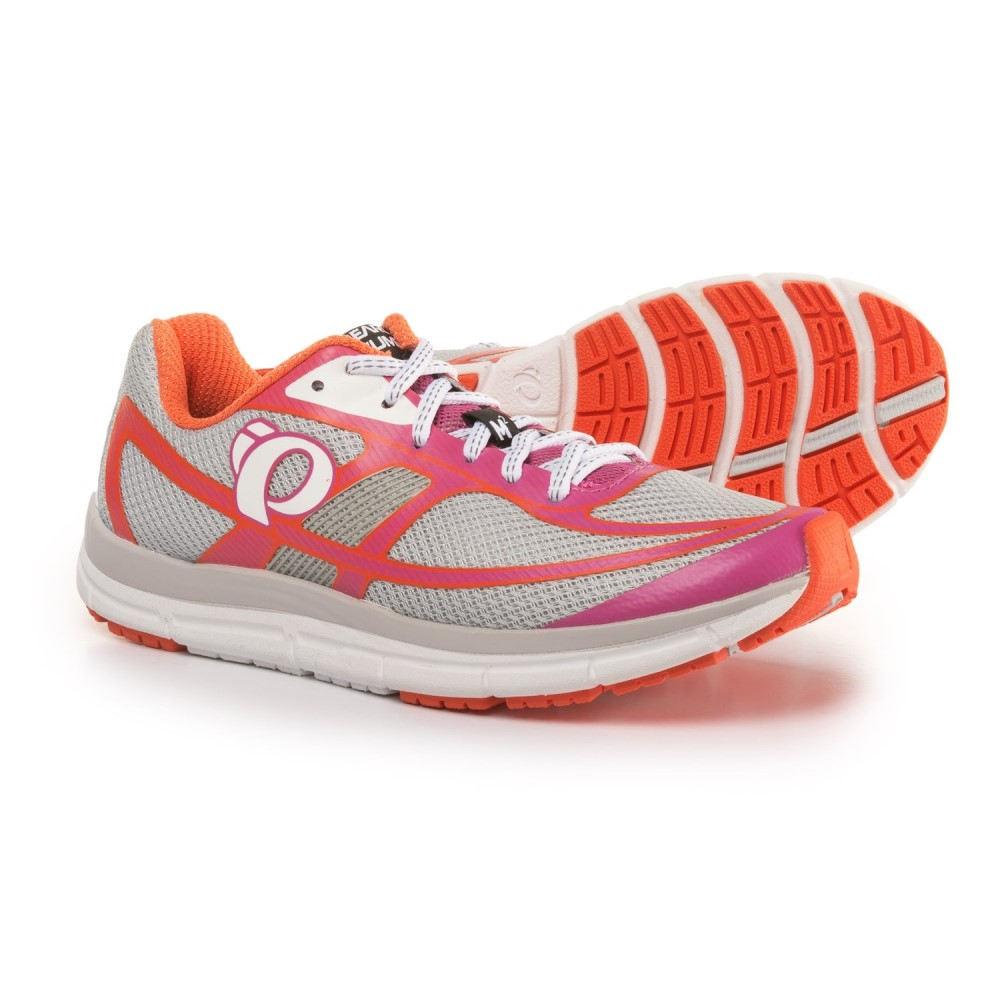 パールイズミ レディース ランニング・ウォーキング シューズ・靴【E:MOTION Road M2 V3 Running Shoes】Silver/Ibis Rose