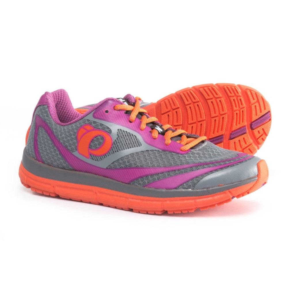 パールイズミ レディース ランニング・ウォーキング シューズ・靴【E:MOTION Road N2 V3 Running Shoes】Monument/Clementine