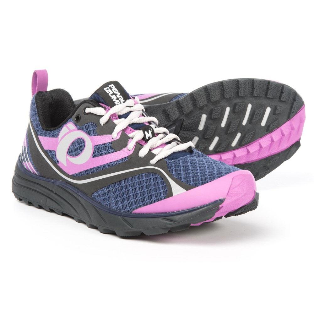 大人気定番商品 パールイズミ Trail レディース ランニング・ウォーキング シューズ・靴【E:MOTION レディース Trail M2 Running V2 Running Shoes】Deep Indigo/Shadow Grey, ひさむら農園:79a4e4a6 --- business.personalco5.dominiotemporario.com