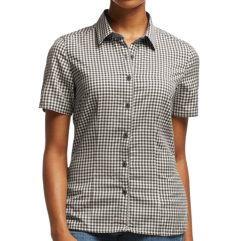 アイスブレーカー レディース ハイキング・登山 トップス【Destiny Check Shirt - UPF 30+, Merino Wool, Short Sleeve】Monsoon