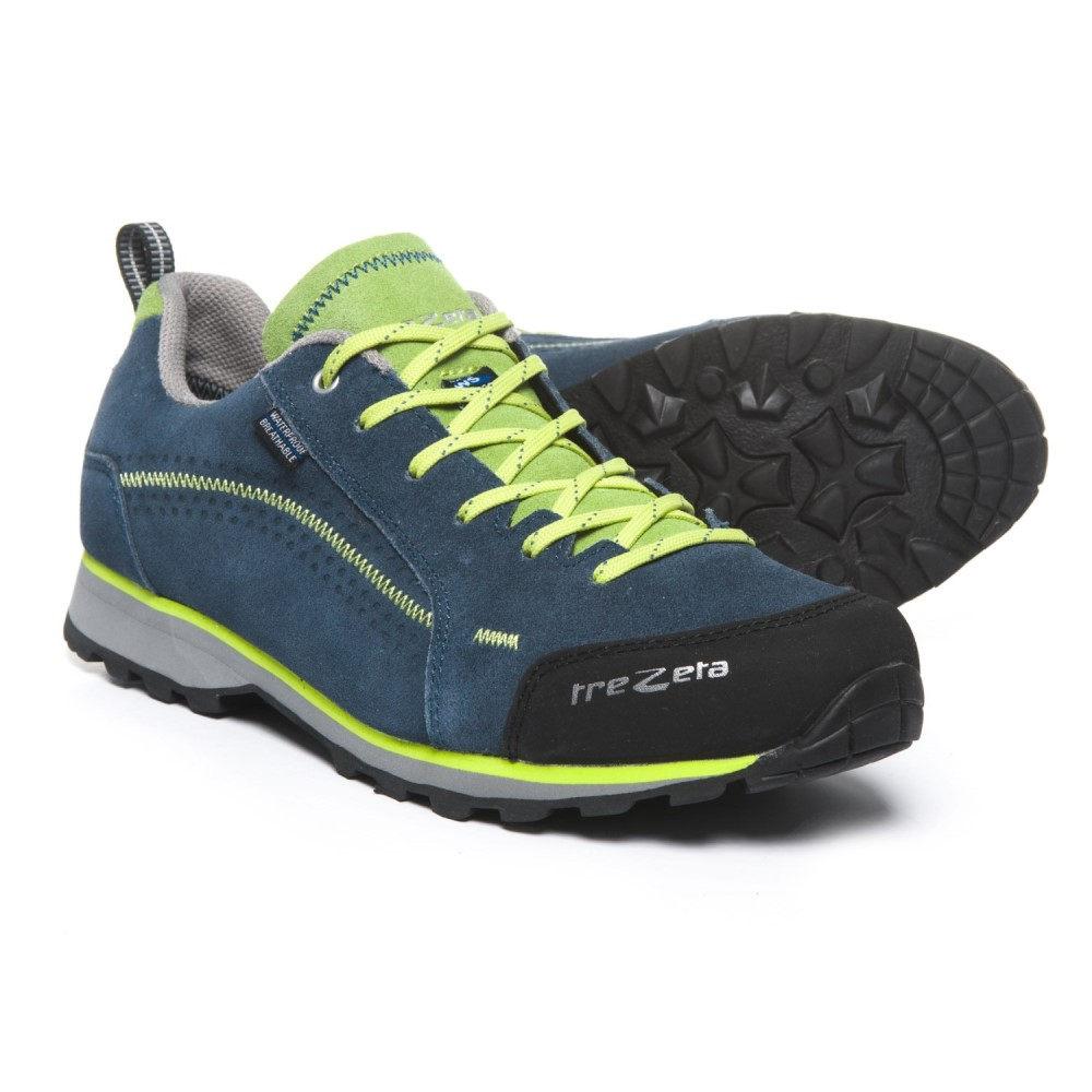 トレゼータ メンズ ハイキング・登山 シューズ・靴【Flow Hiking Shoes - Waterproof】Blue/Green