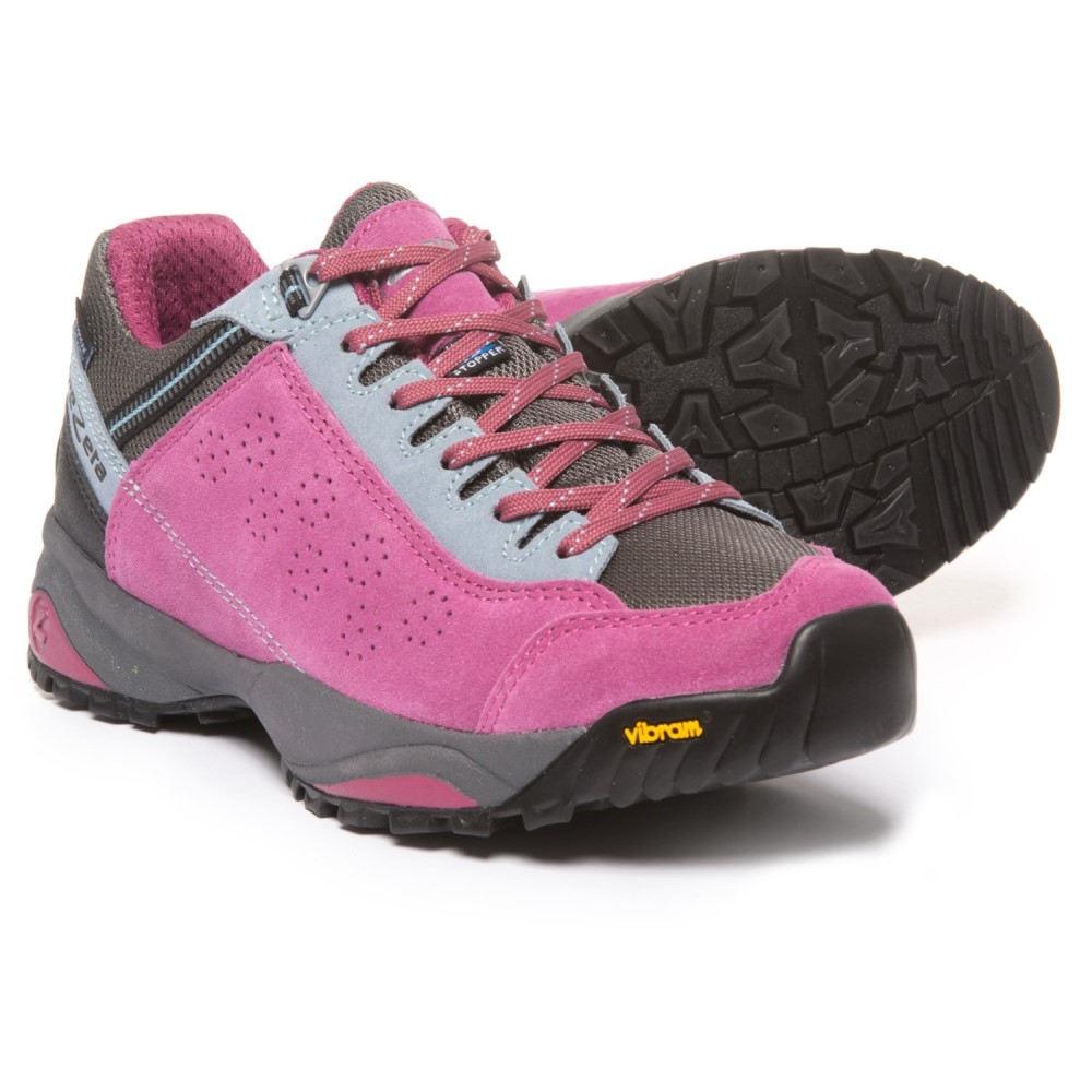 トレゼータ レディース ハイキング・登山 シューズ・靴【Indigo Hiking Shoes - Waterproof】Violet/Light Blue