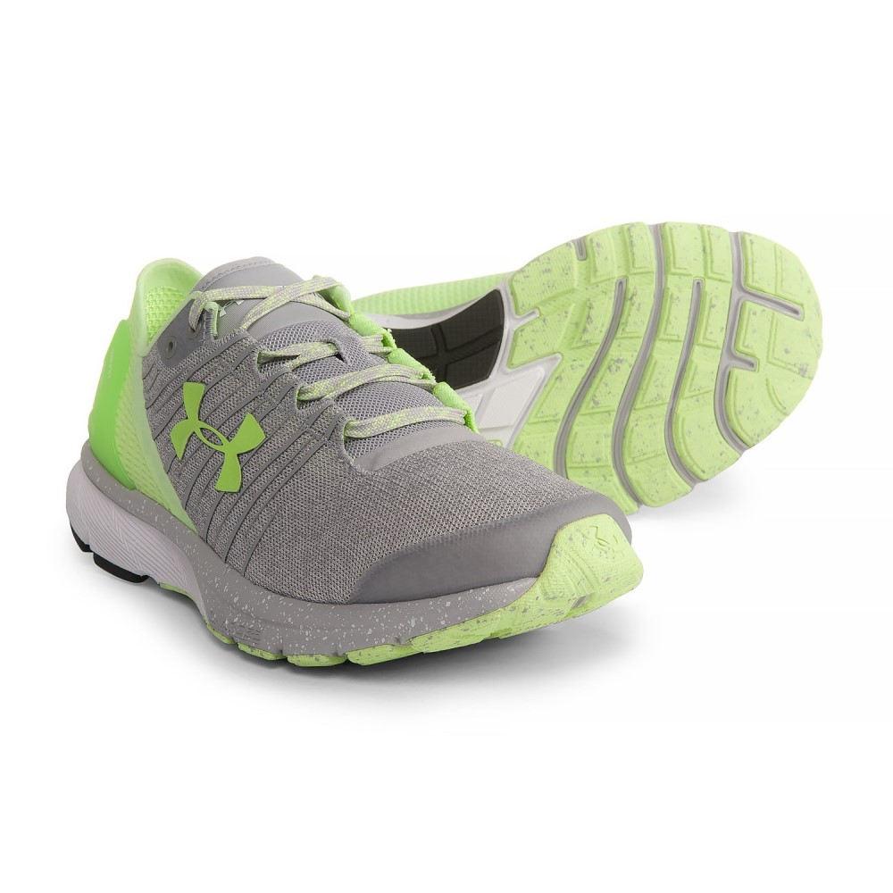 結婚祝い アンダーアーマー レディース ランニング Running・ウォーキング 2 シューズ・靴【Charged Shoes】Overcast Bandit 2 Running Shoes】Overcast Gray/White/Lime Fizz, 防災ショップやしま:9db8a61f --- construart30.dominiotemporario.com