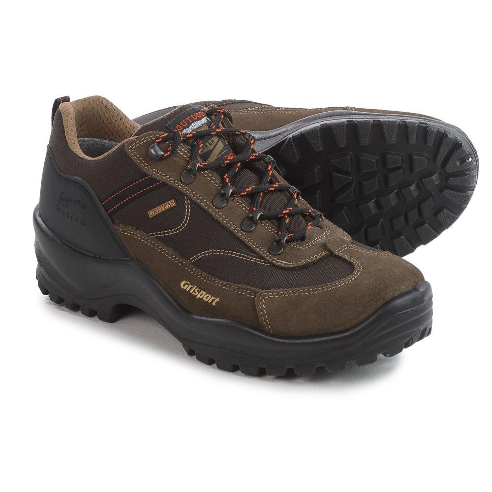 グリスポーツ メンズ ハイキング・登山 シューズ・靴【Valtina Hiking Shoes - Waterproof】Brown