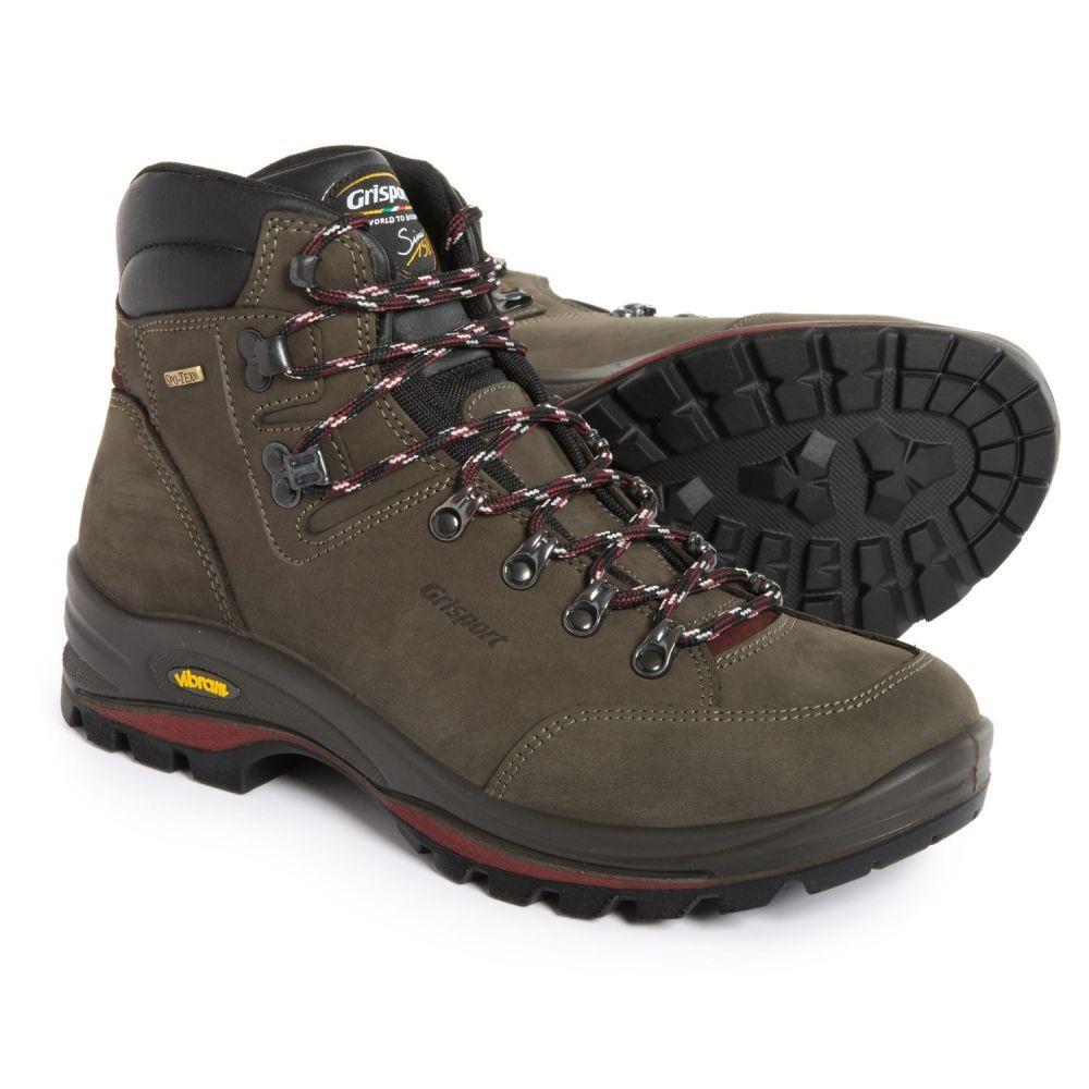 グリスポーツ メンズ ハイキング・登山 シューズ・靴【Made in Italy Montello Hiking Boots - Waterproof, Leather 】Grey