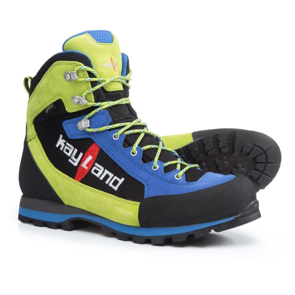 ケイランド メンズ ハイキング・登山 シューズ・靴【XM Lite Gore-Tex Hiking Boots - Waterproof】Blue/Lime