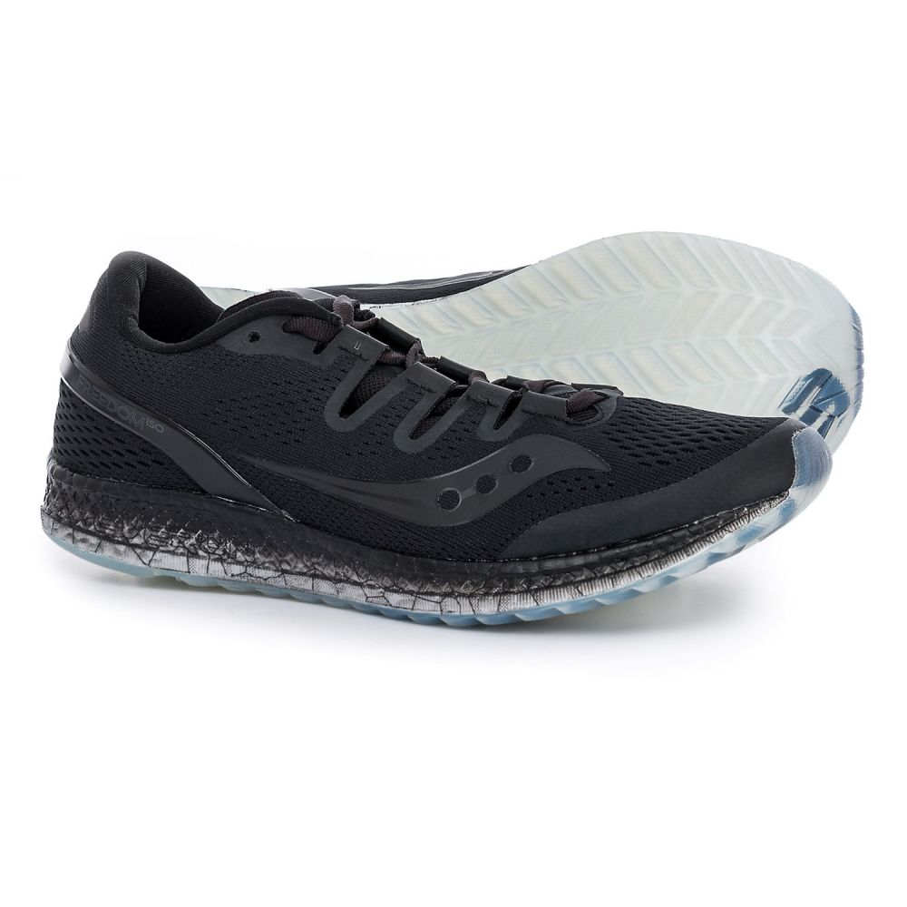 サッカニー メンズ ランニング・ウォーキング シューズ・靴【Freedom ISO Running Shoes】Black