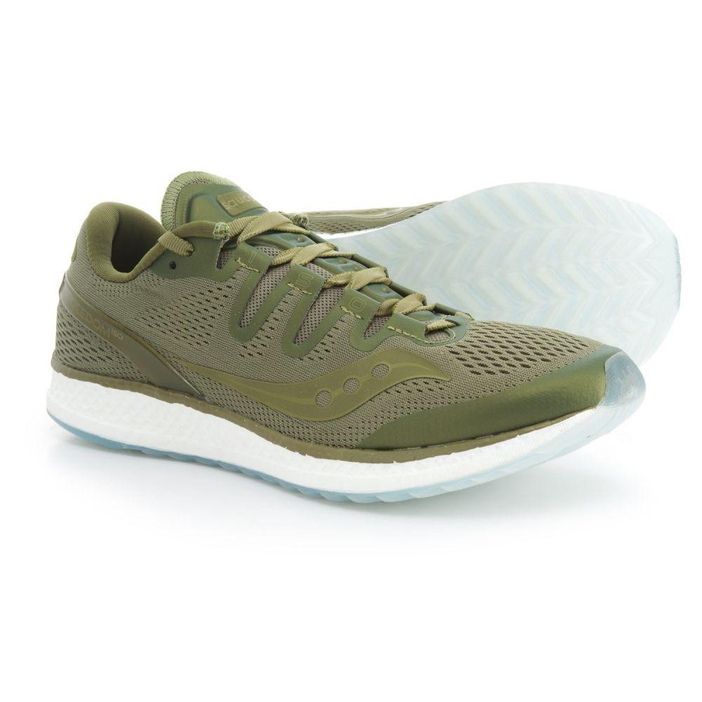 サッカニー メンズ ランニング・ウォーキング シューズ・靴【Freedom ISO Running Shoes】Olive
