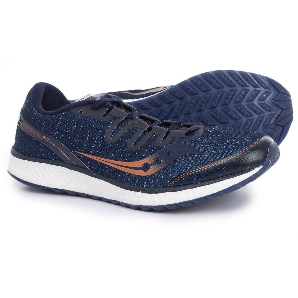 サッカニー メンズ ランニング・ウォーキング シューズ・靴【Freedom ISO Running Shoes】Navy/Denim/Copper